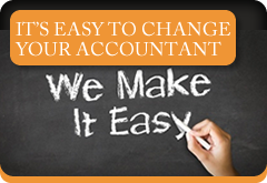 It's easy to change your accountant